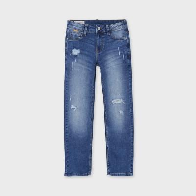 Jeans bleu troué 6556 Mayoral