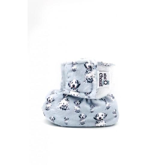 Pantoufle Bébé O Chaud Dalmatien