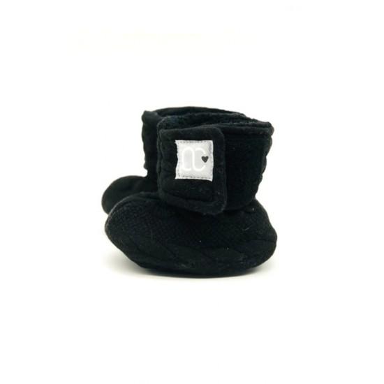 Pantoufle bébé O Chaud noire