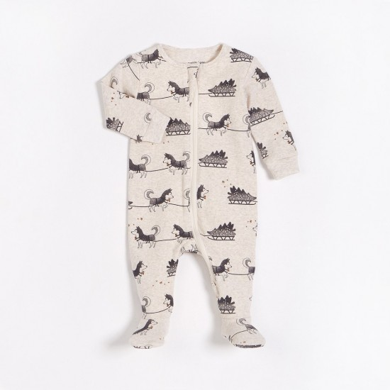 Pyjama une pièce promenade en traineau Petit Lem