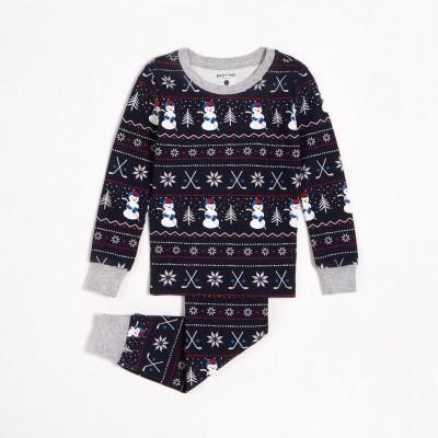 Pyjama marine jour de neige Petit Lem