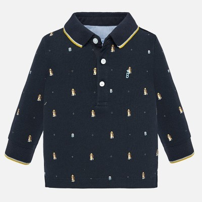 Polo marine univers motif Mayoral