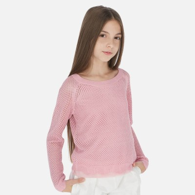 Chandail tricot rose Mayoral