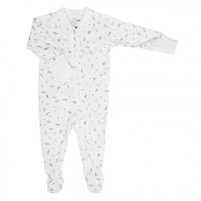 Pyjama en bambou motif oiseau Perlimpinpin