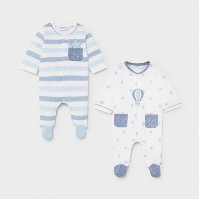 Ensemble de 2 pyjamas bleu ciel Mayoral