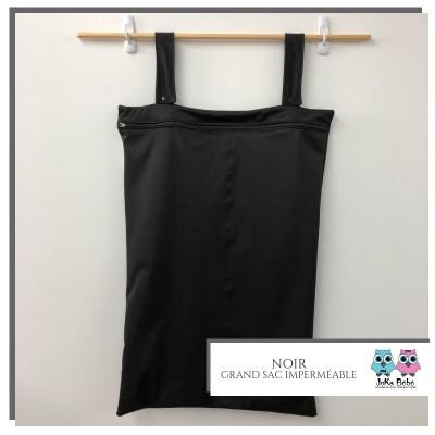 Grand sac pour couche souillée noir Joka