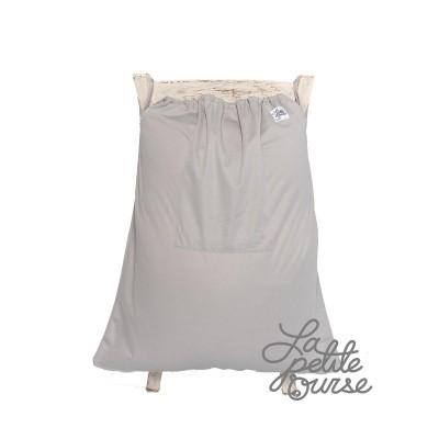 Grand sac pour couches souillées Gris La Petite Ourse