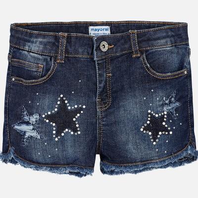 Short en jeans étoile Mayoral