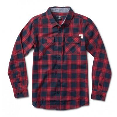 Chemise carreaux rouge Silver Jeans