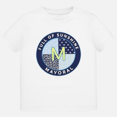 T-shirt bébé blanc m/c Mayoral
