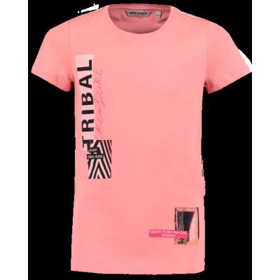 T-shirt rose corail Garcia