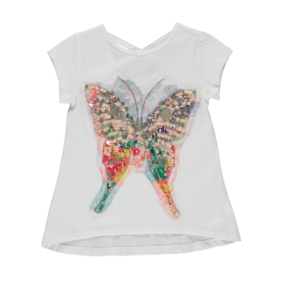 Aztèque t-shirt papillon Blü