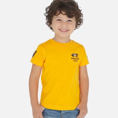 T-shirt jaune tournesol Mayoral