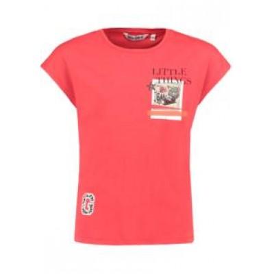 T-shirt rouge Garcia