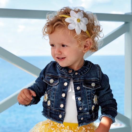 Veste en jeans bébé fille Mayoral