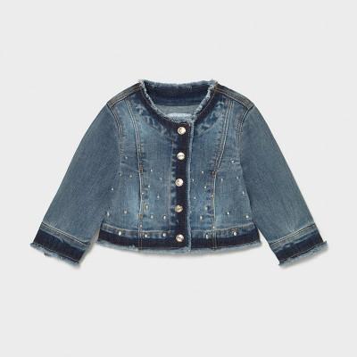 Veste jeans bébé fille Mayoral
